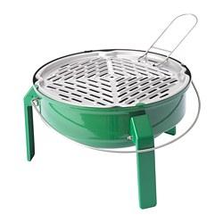 KORPÖN - 便攜式木炭燒烤爐, 綠色 | IKEA 香港及澳門 - PE719127_S3