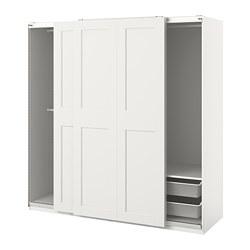 PAX/GRIMO - 衣櫃組合, 白色 | IKEA 香港及澳門 - PE813996_S3