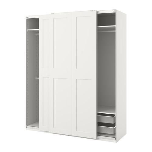 GRIMO/PAX - 衣櫃組合, 白色 | IKEA 香港及澳門 - PE813995_S4