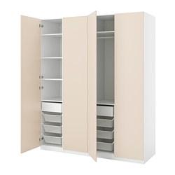 PAX/REINSVOLL - 衣櫃組合, 灰米黃色 | IKEA 香港及澳門 - PE813997_S3