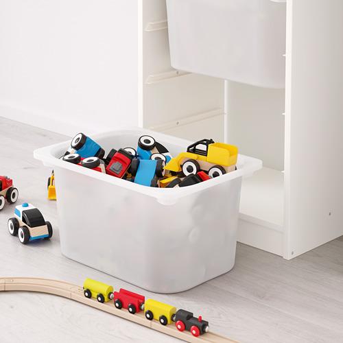 TROFAST - storage combination with boxes, white/white   IKEA Hong Kong and Macau - PE649640_S4
