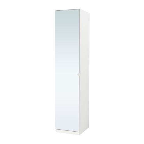 PAX - wardrobe, white/Vikedal mirror glass | IKEA Hong Kong and Macau - PE554789_S4