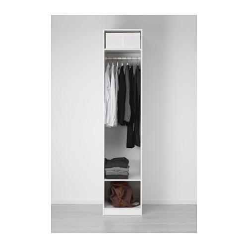 PAX - wardrobe, white/Vikedal mirror glass | IKEA Hong Kong and Macau - PE554790_S4