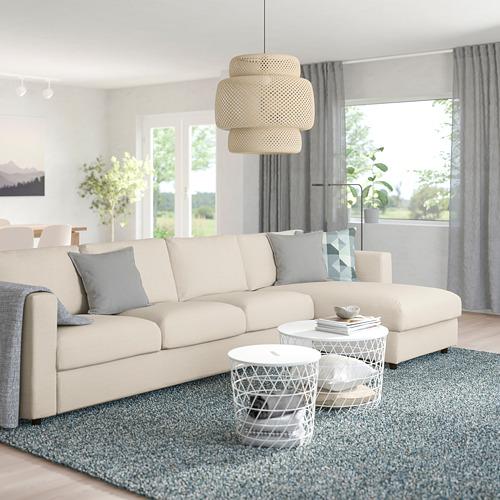 VIMLE - 4-seat sofa with chaise longue, Gunnared beige | IKEA Hong Kong and Macau - PE758890_S4