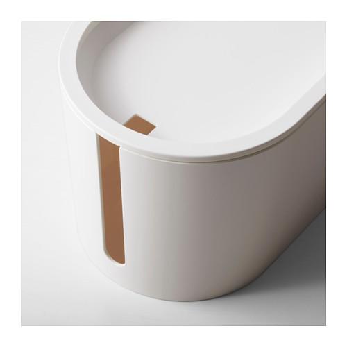 ROMMA - 電線整理盒連蓋, 白色 | IKEA 香港及澳門 - PE617465_S4
