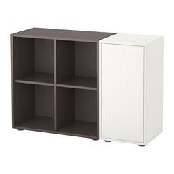 EKET - cabinet combination with feet, white/dark grey | IKEA Hong Kong and Macau - PE617491_S3