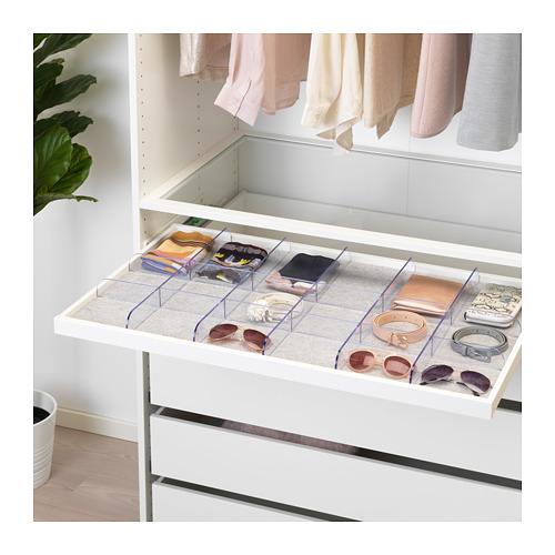 KOMPLEMENT - drawer mat, light grey | IKEA Hong Kong and Macau - PE671214_S4