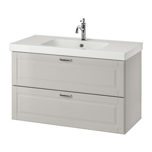 GODMORGON/ODENSVIK 雙抽屜洗手盆櫃
