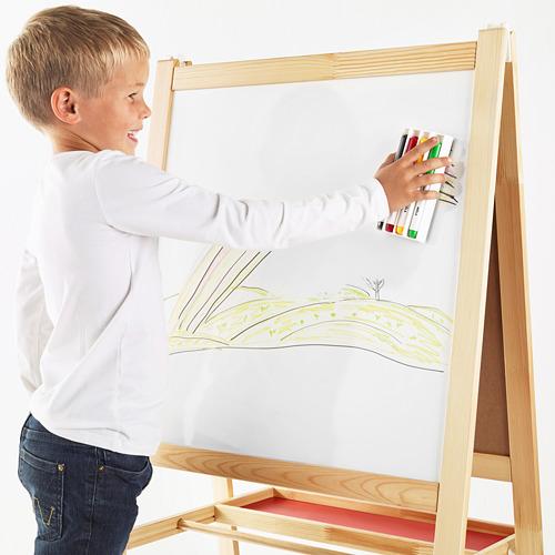 MÅLA - 白板筆連收納盒/白板擦, 多種顏色   IKEA 香港及澳門 - PE664801_S4
