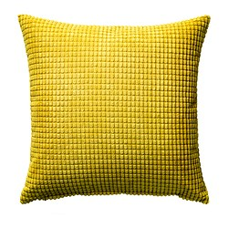 GULLKLOCKA - cushion cover, yellow | IKEA Hong Kong and Macau - PE418342_S3