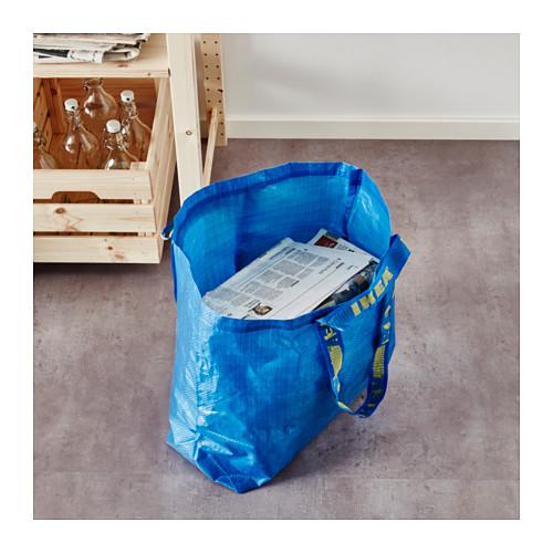FRAKTA - 購物袋,中, 藍色   IKEA 香港及澳門 - PE617663_S4