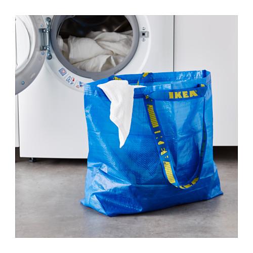 FRAKTA - 購物袋,中, 藍色   IKEA 香港及澳門 - PE617664_S4