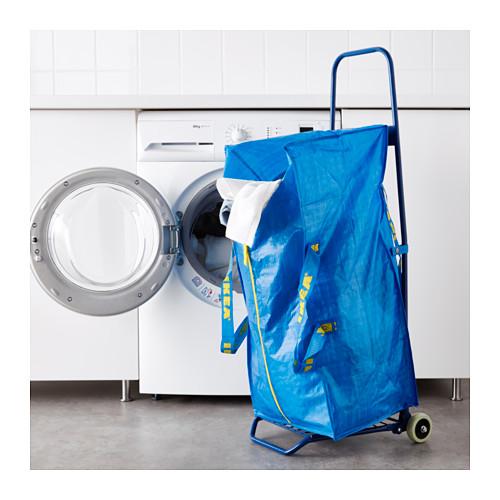 FRAKTA - 手拉車連購物袋, 藍色 | IKEA 香港及澳門 - PE617665_S4