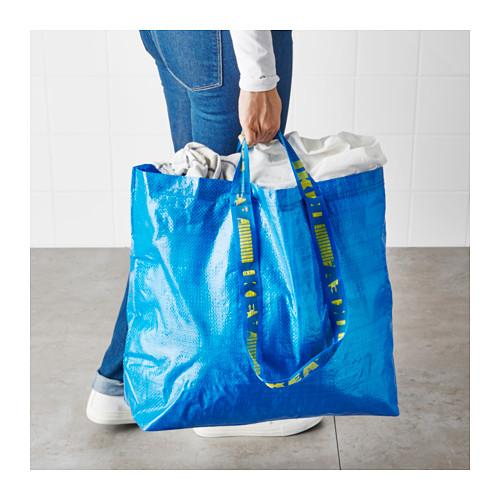 FRAKTA - 購物袋,中, 藍色   IKEA 香港及澳門 - PE617670_S4