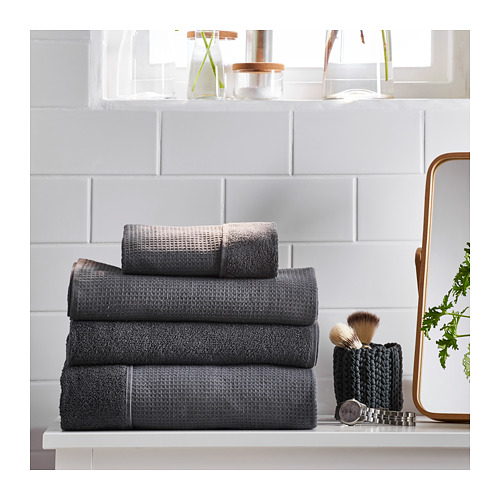 SALVIKEN - washcloth, anthracite | IKEA Hong Kong and Macau - PE719337_S4