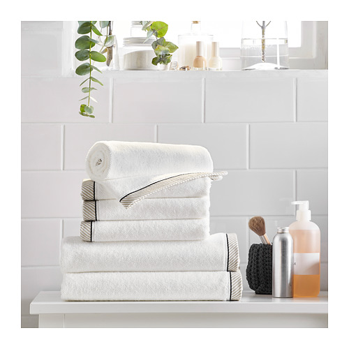 VIKFJÄRD - hand towel, white | IKEA Hong Kong and Macau - PE719352_S4