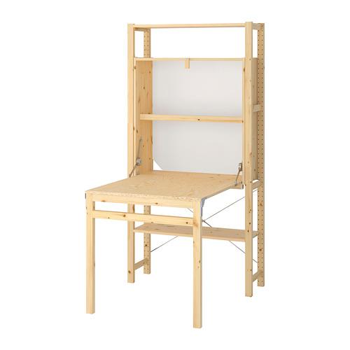 IVAR - 1 sec/storage unit w foldable table, 90x104x179 cm | IKEA Hong Kong and Macau - PE669755_S4