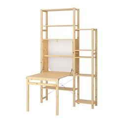 IVAR - 2 sec/storage unit w foldable table, 134x104x226 cm   IKEA Hong Kong and Macau - PE669753_S3