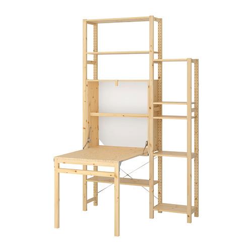 IVAR - 2 sec/storage unit w foldable table, 134x104x226 cm | IKEA Hong Kong and Macau - PE669753_S4