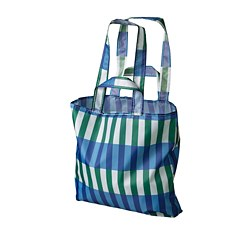 SKYNKE - 購物袋, 藍色/綠色 | IKEA 香港及澳門 - PE759150_S3