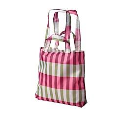 SKYNKE - 購物袋, 綠色/粉紅色 | IKEA 香港及澳門 - PE759149_S3