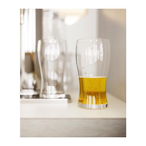 LODRÄT - 啤酒杯, 透明玻璃   IKEA 香港及澳門 - PE384447_S4