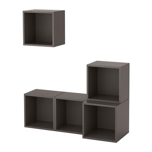 EKET - 上牆式貯物組合, 深灰色 | IKEA 香港及澳門 - PE617880_S4