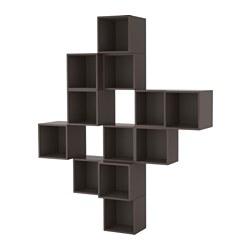 EKET - 上牆式貯物組合, 深灰色 | IKEA 香港及澳門 - PE617896_S3