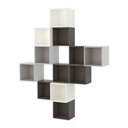 EKET - 上牆式貯物組合, 白色/深灰色/淺灰色 | IKEA 香港及澳門 - PE617900_S3