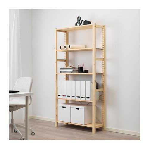 IVAR - shelving unit, 89x30x179cm, pine   IKEA Hong Kong and Macau - PE669741_S4