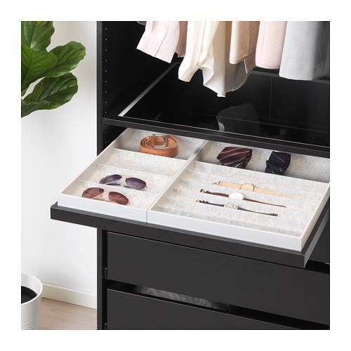 KOMPLEMENT - pull-out tray, black-brown | IKEA Hong Kong and Macau - PE671014_S4