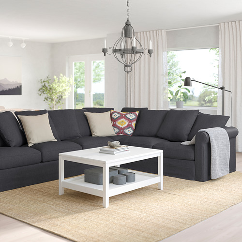 GRÖNLID - 五座位角位梳化, Sporda 深灰色   IKEA 香港及澳門 - PE759157_S4