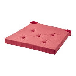 JUSTINA - 椅墊, 紅色 | IKEA 香港及澳門 - PE781734_S3