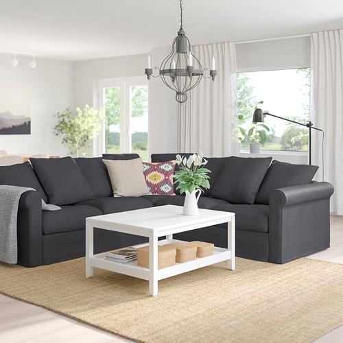 GRÖNLID - corner sofa, 4-seat, Sporda dark grey | IKEA Hong Kong and Macau - PE759167_S4