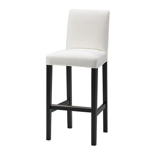 BERGMUND - 高腳凳連靠背椅套, Inseros 白色   IKEA 香港及澳門 - PE781762_S4