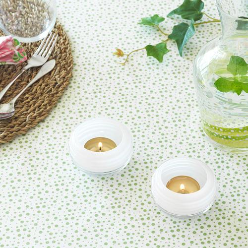 INBJUDEN - 燭燈座, 玻璃 白色   IKEA 香港及澳門 - PE814383_S4