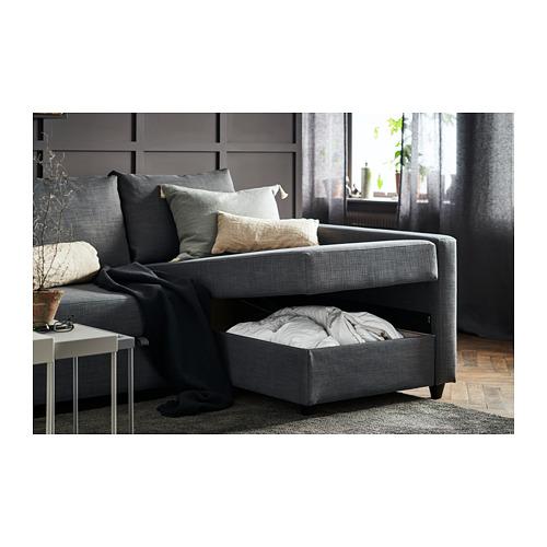 FRIHETEN - corner sofa-bed with storage, Skiftebo dark grey | IKEA Hong Kong and Macau - PH163062_S4