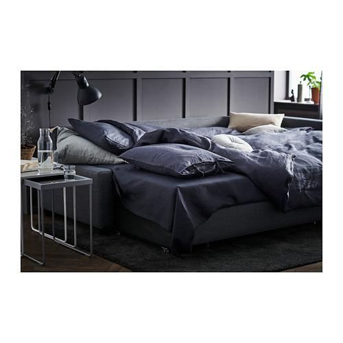 FRIHETEN - corner sofa-bed with storage, Skiftebo dark grey | IKEA Hong Kong and Macau - PH163064_S4