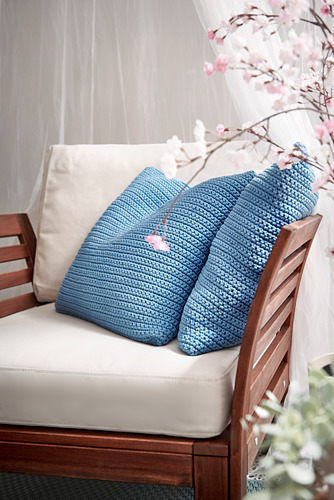 ÄPPLARÖ - armchair, outdoor, brown stained   IKEA Hong Kong and Macau - PH175977_S4