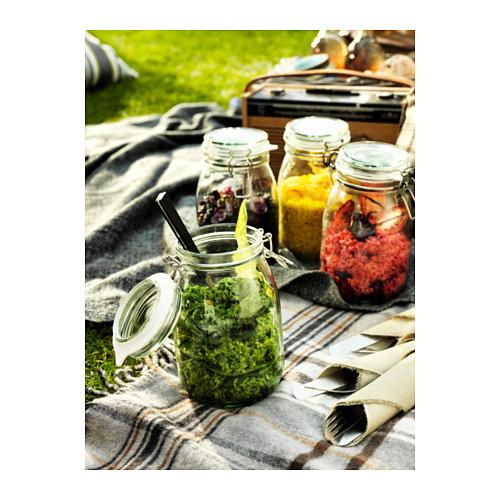 KORKEN - jar with lid, clear glass | IKEA Hong Kong and Macau - PH022158_S4