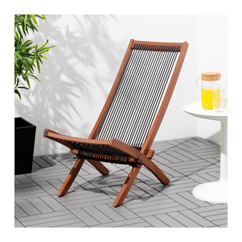 BROMMÖ - lounger, outdoor, brown stained   IKEA Hong Kong and Macau - PE618192_S4