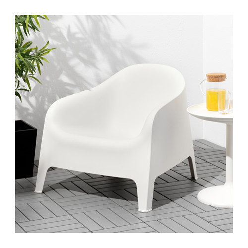 SKARPÖ - armchair, outdoor, white | IKEA Hong Kong and Macau - PE618196_S4