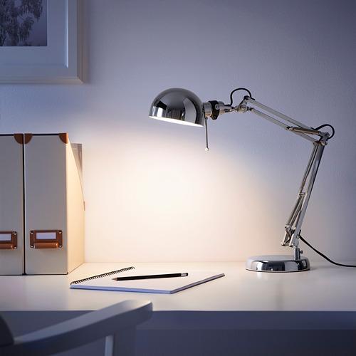 FORSÅ - 工作燈, 鍍鎳 | IKEA 香港及澳門 - PE614067_S4
