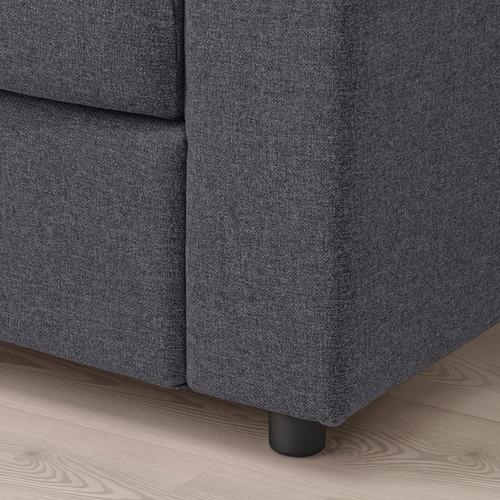 VIMLE - 兩座位梳化, 有寬闊扶手 Gunnared/暗灰色 | IKEA 香港及澳門 - PE759479_S4