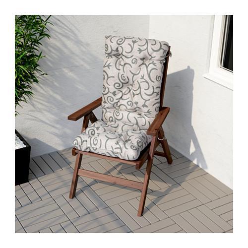 ÄPPLARÖ - 戶外躺椅, 可摺合 染褐色 | IKEA 香港及澳門 - PE618395_S4