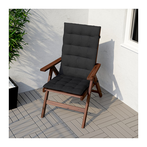 ÄPPLARÖ - 戶外躺椅, 可摺合 染褐色 | IKEA 香港及澳門 - PE618405_S4
