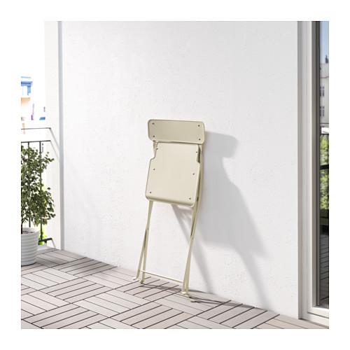 SALTHOLMEN - chair, outdoor, foldable beige | IKEA Hong Kong and Macau - PE618452_S4