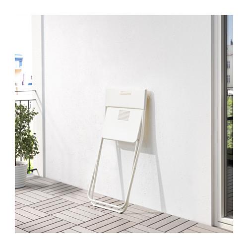 FEJAN - 戶外椅子, 可摺合 白色 | IKEA 香港及澳門 - PE618461_S4