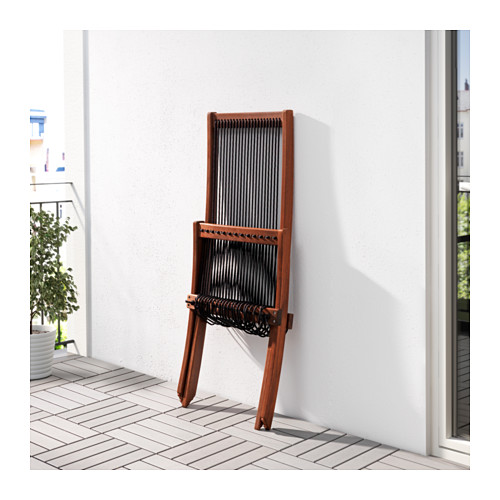 BROMMÖ - lounger, outdoor, brown stained   IKEA Hong Kong and Macau - PE618469_S4