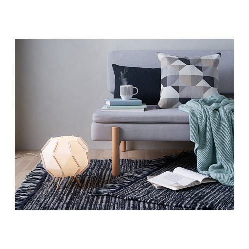 SVARTHÖ - cushion cover, beige | IKEA Hong Kong and Macau - PH145447_S4